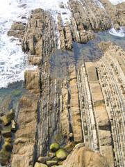 Playa de Zurriola en San Sebastian, Donostia ( Euskadi, España)