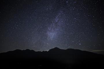 平沢峠から八ヶ岳星空