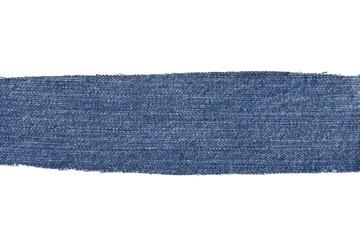 Blue denim cotton jeans patch