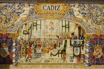 Mosaico de Cadiz, Andalucia