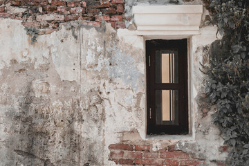 old and vintage window