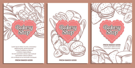 page design for bakery