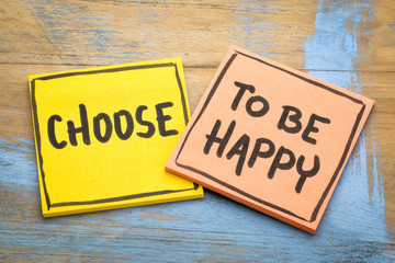 Choose to be happy advice