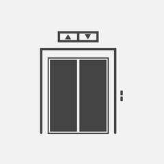 Elevator vector icon.