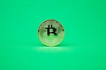 ビットコイン(bitcoin)のクロマキー素材