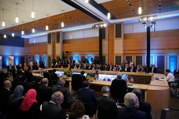 U.S. President Donald Trump and ASEAN leaders participate in the U.S.-ASEAN Summit in Manila