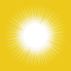 Sun abstract background, Sun yellow rays