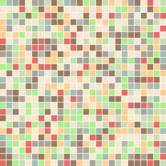 square mosaic color palette . color combo harmony