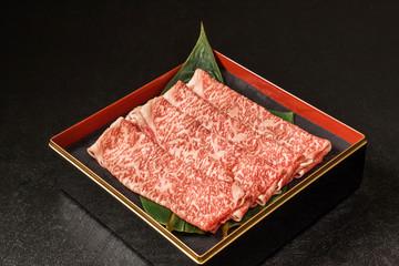 ブランド高級和牛肉 Luxury Japanese beef (for sukiyaki)