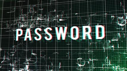 Digital Dreamlike Password Illustration