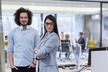 Portrait of successful Business people