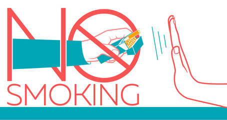 No Smoking banner
