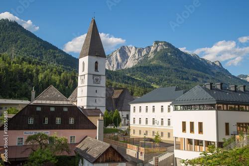 Panorama Und Sehenswürdigkeiten Von Bad Aussee Salzkammergut