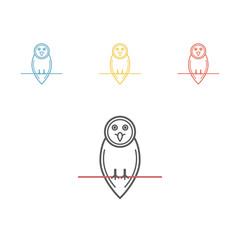 Owl icon design