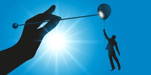 entreprise - leadership - politique - rivalité - concurrence - homme d'affaires - contrat - carrière