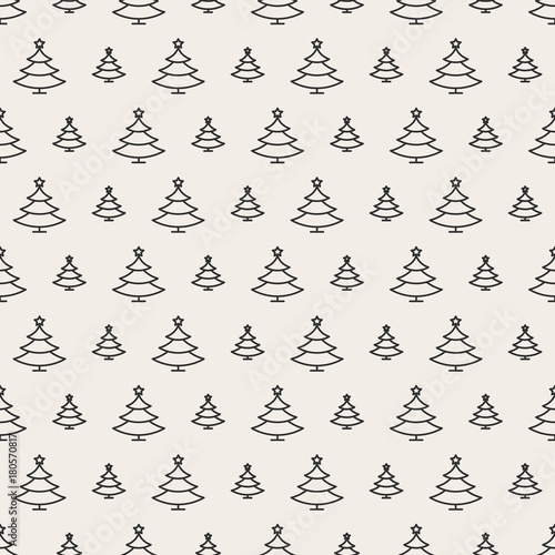 Christmas tree seamless pattern black color on white background for christmas tree seamless pattern black color on white background for product promotion poster christmas m4hsunfo