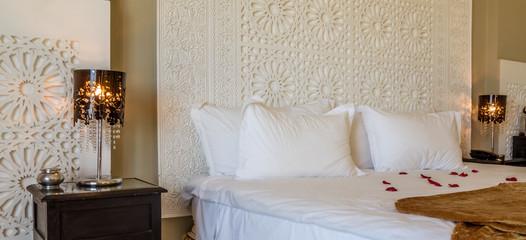 Beautiful hotel bedroom