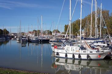 Port de Rochefort en Charente maritime