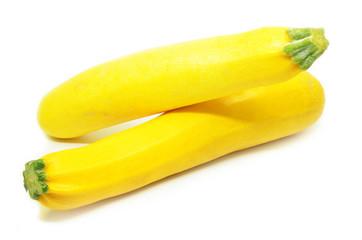 Yellow squash isolated
