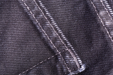 Close up jeans or denim cloth texture background