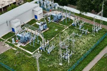City electric substation