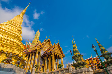 Garden Poster Temple Wat phra kaew grand palace building buddha temple