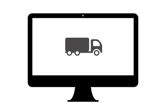 PC - Lastwagen - Transport