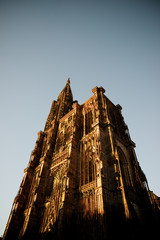 Strasbourg cathedral view