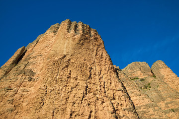 Riglos Mountains in Spain