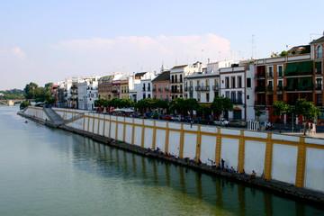 Triana, barrio de Sevilla, capital de Andalucia ( España)