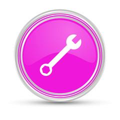 Pinker Button - Schraubenschlüssel - Reparieren