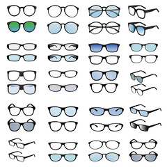 fashion eyeglass vector design