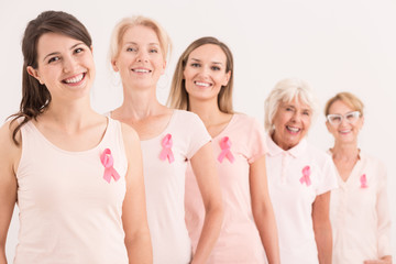 Support in breast cancer battle
