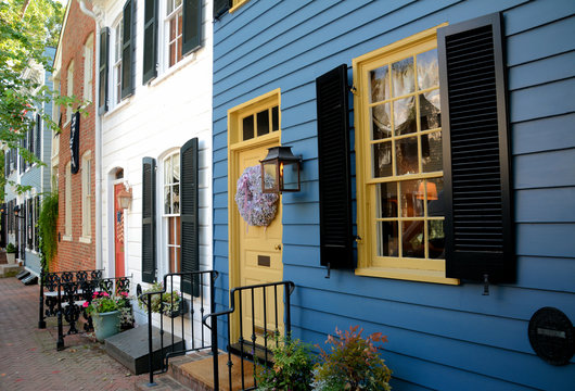 Row Houes, Old Town Alexandria VA