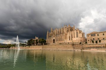 Cathédrale de Palma de Majorque (Îles Baléares, Espagne)