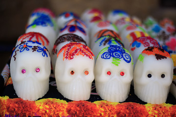 Day of the death. Traditional mexican candy.