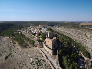 Alarcon ( Cuenca, España) Villa declarada de interes turistico por su conjunto historico y su castillo parador