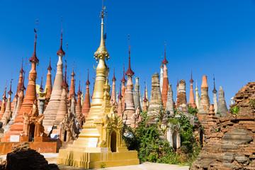 Shwe Inn Dein Pagode, Inlee See, Myanmar