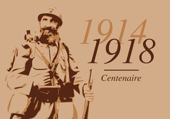 guerre mondiale - 14-18 - grande guerre - centenaire - bataille - poilus - soldat - armistice - 11 novembre