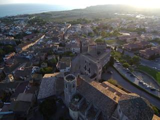 Altafulla (Tarragona) desde el aire
