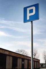 znak parkingu