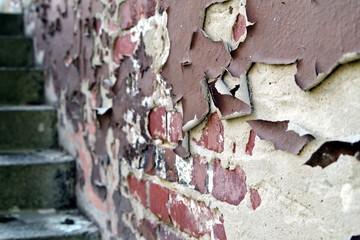stara odrapana ściana