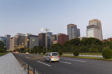 Ginza district, Tokyo, Japan