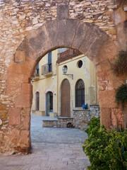 Altafulla( Tarragona, Cataluña) Centro historico