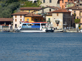 Navigation on Lake Iseo with a stop at Peschiera M in Montisola - Italy