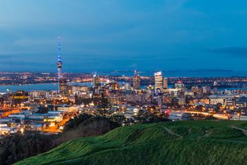 Staande foto Oceanië Auckland Skyline 1