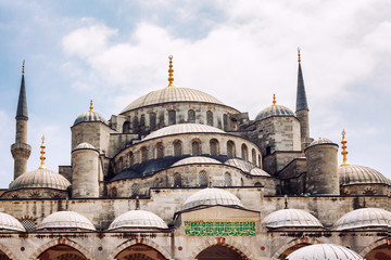 Beautiful big mosque