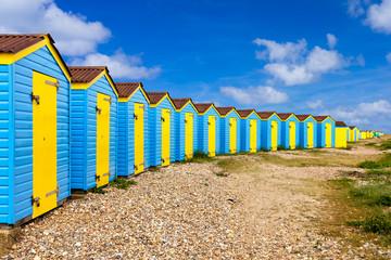 Fototapete - Littlehampton Beach Huts