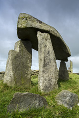 Legananny Dolmen an Irish megalithic structure