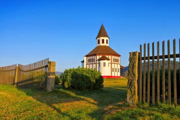 Bad Wurzelsdorf Kapelle Schenkenhan -  Korenov chapel Tesarov in Bohemia